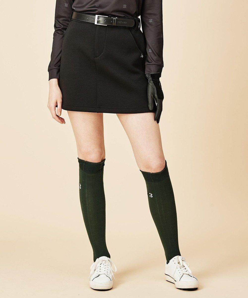 【23区 ゴルフ/NIJYUSANKU GOLF】の【WOMEN】ソフトダンボールニット スカート インテリア・キッズ・メンズ・レディースファッション・服の通販 founy(ファニー)  ファッション Fashion レディースファッション WOMEN スカート Skirt 送料無料 Free Shipping ストレッチ フィット ポケット 台形 軽量 ブラック系 (005) ID: prp329100002054193 ipo3291000000012589405