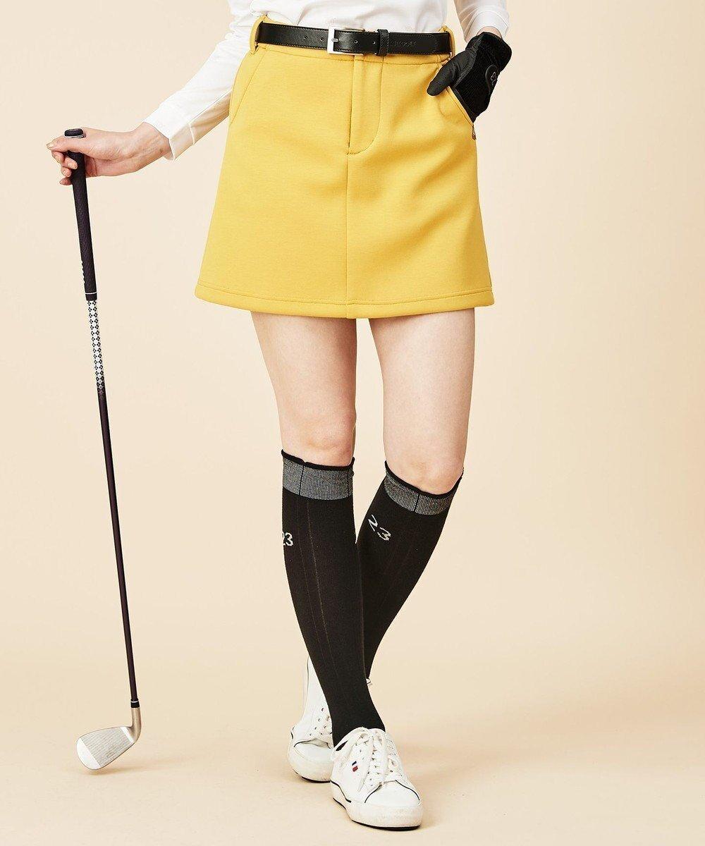 【23区 ゴルフ/NIJYUSANKU GOLF】の【WOMEN】ソフトダンボールニット スカート インテリア・キッズ・メンズ・レディースファッション・服の通販 founy(ファニー)  ファッション Fashion レディースファッション WOMEN スカート Skirt 送料無料 Free Shipping ストレッチ フィット ポケット 台形 軽量 キャメル系 (034) ID: prp329100002054193 ipo3291000000012589407