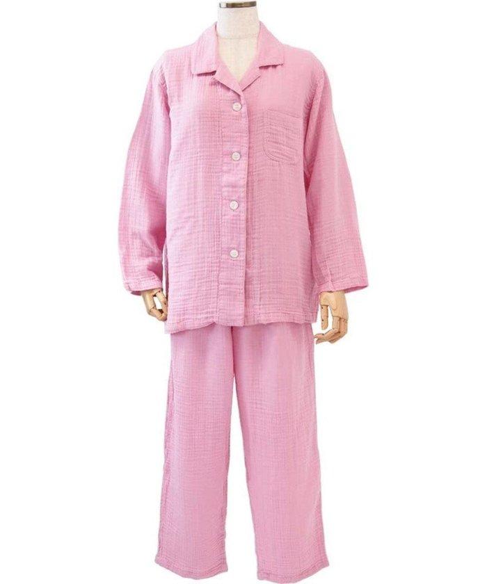 【ウチノ/UCHINO】のクレープガーゼレディスパジャマ インテリア・キッズ・メンズ・レディースファッション・服の通販 founy(ファニー) https://founy.com/ ファッション Fashion レディースファッション WOMEN 送料無料 Free Shipping アンダー パジャマ |ID: prp329100002063298 ipo3291000000012648934