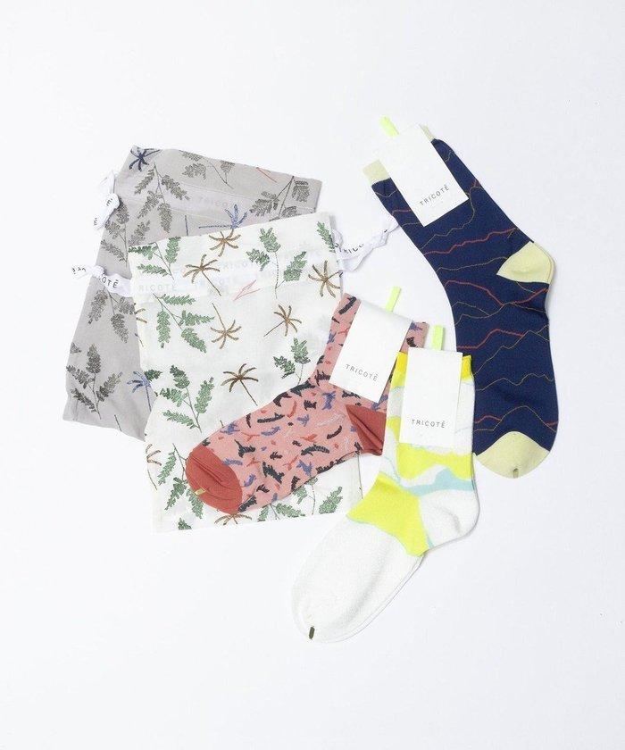 【トリコテ/Tricote】の3SOCKS SET インテリア・キッズ・メンズ・レディースファッション・服の通販 founy(ファニー) https://founy.com/ ファッション Fashion レディースファッション WOMEN セットアップ Setup ソックス Socks レッグウェア Legwear おすすめ Recommend ソックス プリント 巾着 |ID: prp329100002076371 ipo3291000000012769270